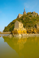 Saint Aubert's Chapel - Mont Saint-Michel - Brittany - France
