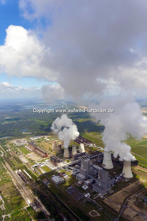 Kraftwerk Boxberg: DEUTSCHLAND, EUROPA,  SACHSEN, BOXBERG 24.05.2013: Kraftwerk Boxberg