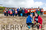 Scout groups are planting maram grass at Inch Beach. Pictured Ellen Moynihan and Susan Vickers from Clean Coasts with Scout groups from kerry