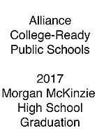Alliance 2017 Graduation Morgan McKinzie HS