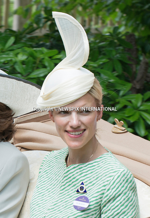 21.06.2017; Ascot, UK: SUSANNA WARREN<br /> travels in the royal procession to Royal Ascot.<br /> Mandatory Credit Photo: &copy;Dias/NEWSPIX INTERNATIONAL<br /> <br /> IMMEDIATE CONFIRMATION OF USAGE REQUIRED:<br /> Newspix International, 31 Chinnery Hill, Bishop's Stortford, ENGLAND CM23 3PS<br /> Tel:+441279 324672  ; Fax: +441279656877<br /> Mobile:  07775681153<br /> e-mail: info@newspixinternational.co.uk<br /> Usage Implies Acceptance of OUr Terms &amp; Conditions<br /> Please refer to usage terms. All Fees Payable To Newspix International