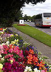 A picturesque scene with pretty flower beds decorating   Muckross Road, Killarney in County Kerry taken in the summer of 2011..Picture by Don MacMonagle