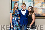 Triona Curran, Kieran Monahan and Cora O'Connor enjoying the  Kilmoyley GAA Social in Ballyroe Heights Hotel on Saturday night