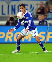 FUSSBALL   1. BUNDESLIGA   SAISON 2012/2013   5. SPIELTAG FC Schalke 04 - FSV Mainz 05                               25.09.2012        Ibrahim Afellay (FC Schalke 04) Einzelaktion am Ball