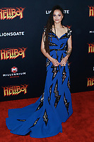 NEW YORK, NY - APRIL 9: Sasha Lane  at NY Special Screening of HELLBOY at AMC Lincoln Square  on April 9, 2019 in New York City. <br /> CAP/MPI99<br /> ©MPI99/Capital Pictures