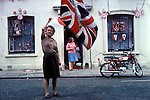 Silver Jubilee celebrations, London 1977.Uk East end Tower Hamlets