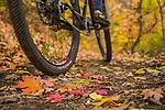Fall mountain biking in Park City with Amy Kopischke.