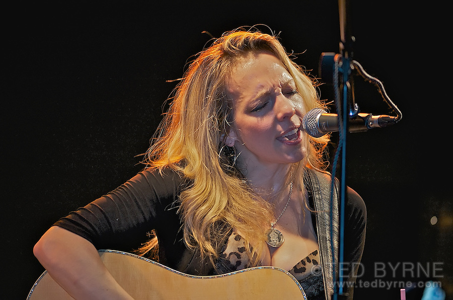 Melanie Dekker performs in Fribourg, Switzerland in March 2012.