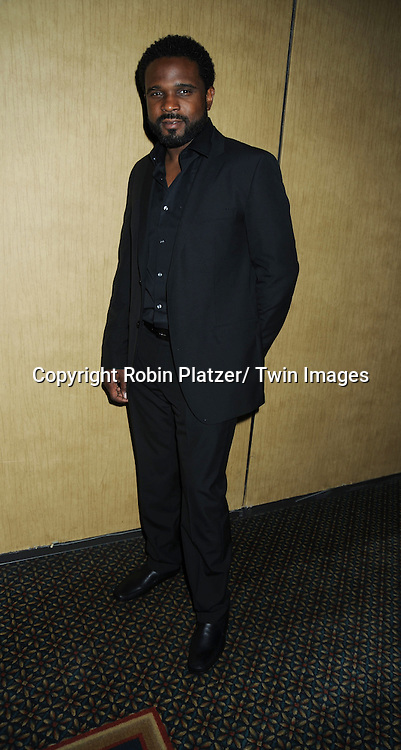 Darius McCrary  posing at  the after party at the  Daytime Emmy Awards on June 27, 2010 at the Hilton at Las Vegas in Nevada.