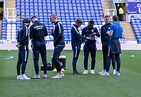Preston North End players doing a pre match inspection<br /> <br /> Photographer David Horton/CameraSport<br /> <br /> The EFL Sky Bet Championship - Reading v Preston North End - Saturday 19th October 2019 - Madejski Stadium - Reading<br /> <br /> World Copyright © 2019 CameraSport. All rights reserved. 43 Linden Ave. Countesthorpe. Leicester. England. LE8 5PG - Tel: +44 (0) 116 277 4147 - admin@camerasport.com - www.camerasport.com
