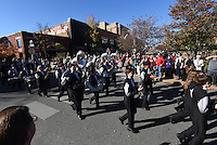 NWA Democrat-Gazette/J.T. WAMPLER  Image from the 2015 Veterans Day parade in in Fayetteville Sunday Nov. 8, 2015.