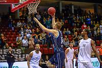 GRONINGEN - Basketbal, Donar - Weert, Dutch Baketball League, seizoen 2018-2019, 07-10-2018, score d14/