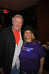 Wendy poses with Guiding Light Jerry ver Dorn and One Life To Live hosts the 9th Annual Daytime Stars & Strikes Charity Event to benefit The American Cancer Society on October 7, 2012 at Bowlmor Lanes Times Square, New York City, New York.  (Photo by Sue Coflin/Max Photos)