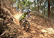 7th September 2017, Smithfield Forest, Cairns, Australia; UCI Mountain Bike World Championships;  Danielle Beecroft (AUS) during downhill practice