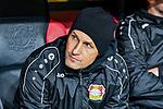 08.11.2018, BayArena, Leverkusen, Europaleque, Vorrunde, GER, UEFA EL, Bayer 04 Leverkusen (GER) vs. FC Zuerich (SUI),<br />  <br /> DFL regulations prohibit any use of photographs as image sequences and/or quasi-video<br /> <br /> im Bild / picture shows: <br /> Heiko Herrlich Trainer (Bayer Leverkusen), auf der Bank<br /> <br /> Foto &copy; nordphoto / Meuter<br /> <br /> <br /> <br /> Foto &copy; nordphoto / Meuter