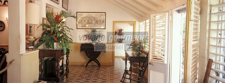 France/DOM/Martinique/Le François/Domaine de l'Acajou/Distillerie Clément: Habitation Clément - Détail intérieur