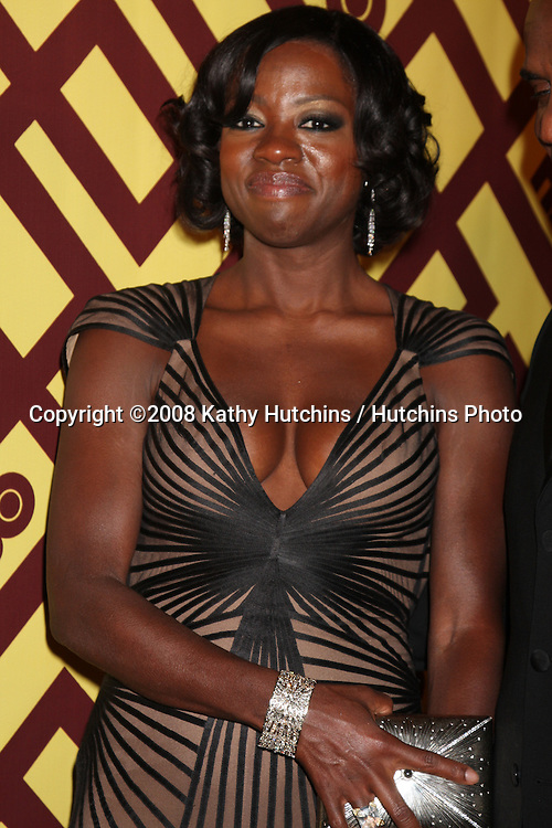 Viola Davis arriving  at the HBO Post Golden Globe Party at Circa 55, at the Beverly Hilton Hotel in Beverly Hills, CA on .January 11, 2009.©2008 Kathy Hutchins / Hutchins Photo..                .