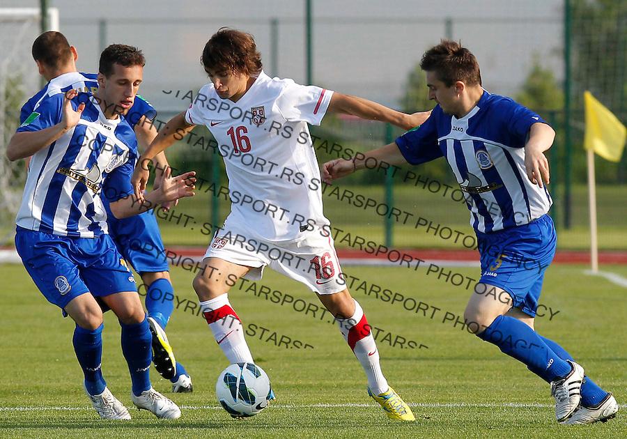Fudbal Soccer<br /> Friendly match<br /> Serbia v Dunav <br /> Lazar Markovic<br /> Novi Sad, 30.05.2013.<br /> foto: Srdjan Stevanovic/Starsportphoto &copy;