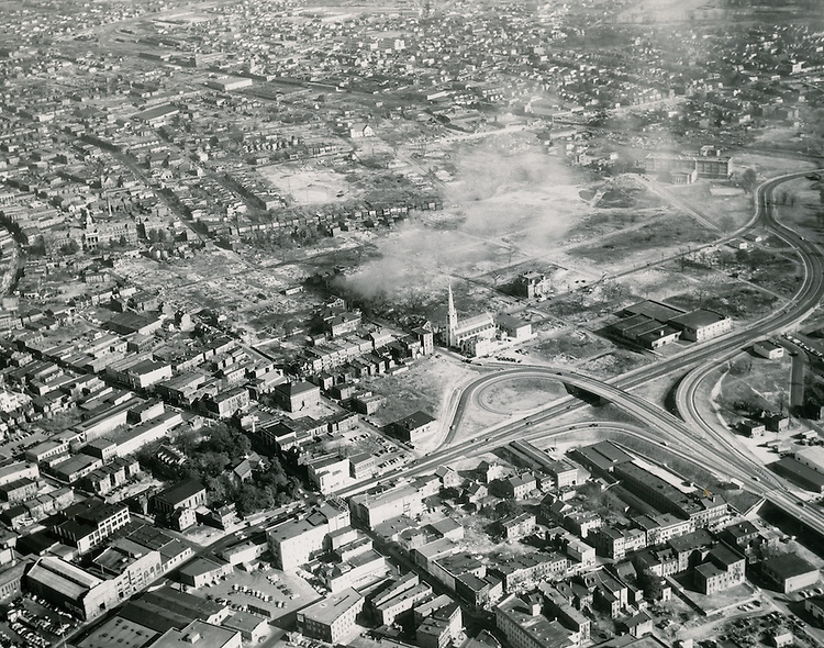 1954 January 08..Redevelopment.Downtown East (R-18).Tidewater Gardens (6-2 & 6-9)..Site of Tidewater Gardens.after partial clearance..PHOTO CRAFTSMEN INC..NEG#.NRHA#..