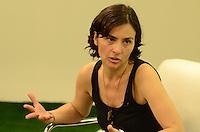 SAO PAULO, 25 DE JULHO DE 2012 - ELEICOES 2012 SONINHA - Canditata Soninha em entrevista para a RIT TV na tarde desta quarta feira, regiao central da capital. FOTO: ALEXANDRE MOREIRA - BRAZIL PHOTO PRESS