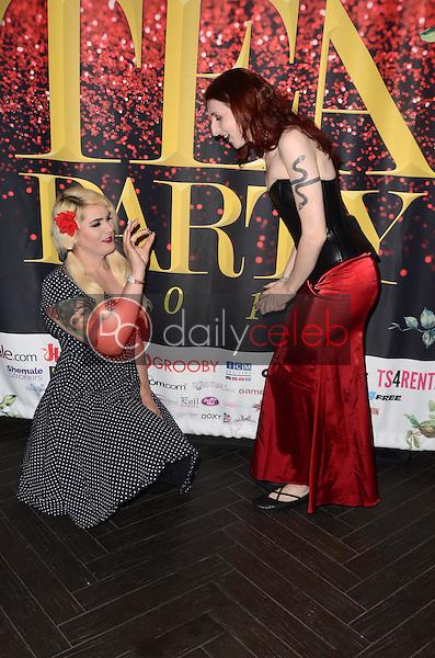 Isabella Sorrenti, Jelena Vermilion<br /> at the 2017 Official Transgender Erotica Awards TEA Pre-Party, Avalon, Hollywood, CA 03-04-17<br /> David Edwards/DailyCeleb.com 818-249-4998