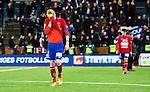 S&ouml;dert&auml;lje 2014-11-09 Fotboll Kval till Superettan Assyriska FF - &Ouml;rgryte IS :  <br /> &Ouml;rgrytes Jacob Ericsson deppar efter matchen mellan Assyriska FF och &Ouml;rgryte IS <br /> (Foto: Kenta J&ouml;nsson) Nyckelord:  S&ouml;dert&auml;lje Fotbollsarena Kval Superettan Assyriska AFF &Ouml;rgryte &Ouml;IS depp besviken besvikelse sorg ledsen deppig nedst&auml;md uppgiven sad disappointment disappointed dejected