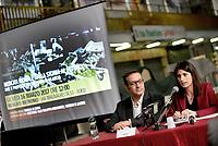 Roma, 16 Marzo 2017<br /> La sindca di Roma, Virginia Raggi.<br /> Conferenza stampa al Mercato di Via Magnagrecia sul rilancio dei mercati rionali