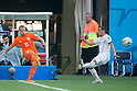 Wesley Sneijder (NED), Marcelo Diaz (CHI), JUNE 23, 2014 - Football / Soccer : FIFA World Cup Brazil 2014 Group B match between Netherlands 2-0 Chile at Arena de Sao Paulo Stadium in Sao Paulo, Brazil. (Photo by Maurizio Borsari/AFLO)