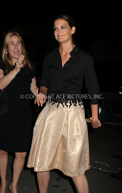 WWW.ACEPIXS.COM....September 5, 2012, New York City, NY.......Katie Holmes arriving at the 9th Annual Style Awards at Lincoln Center on September 5, 2012 in New York City.........By Line: Nancy Rivera/ACE Pictures....ACE Pictures, Inc..Tel: 646 769 0430..Email: info@acepixs.com