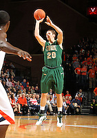 Nov. 12, 2010; Charlottesville, VA, USA;  William & Mary Tribe g-f Quinn McDowell (20) shoots the ball during the game against the Virginia Cavaliers at the John Paul Jones Arena.  Mandatory Credit: Andrew Shurtleff