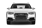 Car photography straight front view of a 2017 Audi A4-Allroad Design-Luxe 5 Door wagon Front View