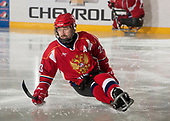St. John's, NL - Dec 4 2019: Game 5 - Russia v Czech Republic at the 2019 Canadian Tire Para Hockey Cup at the Double Ice Complex in Paradise, Newfoundland, Canada. (Photo by Matthew Murnaghan/Hockey Canada)