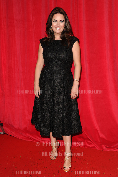 Debbie Rush arriving for the 2014 British Soap Awards, at the Hackney Empire, London. 24/05/2014 Picture by: Steve Vas / Featureflash