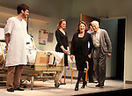Brenda Pressley, Michael Esper, Linda Lavin, Dick Latessa, Kate Jennings Grant & Gregory Wooddell.during the Opening Night Performance Curtain Call for Nicky Silver's 'The Lyons' at the Vineyard Theatre in New York City.
