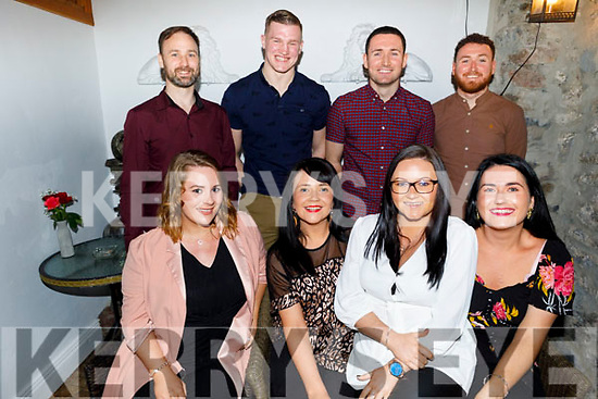 Enjoying the evening in Bella Bia on Sunday.<br /> Seated l to r: Molly Burke, Clare Horgan, Rae O'Carroll and Nicola Horgan.<br /> Back l to r: Darragh Fitzgerald, James Corbett, Padraig and Mark Horgan.