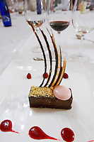 chocolate dessert,  hotel el convento , Coreses spain castile and leon