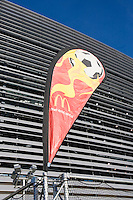 McDonalds display. The USMNT tied Argentina, 1-1, at the New Meadowlands Stadium in East Rutherford, NJ.