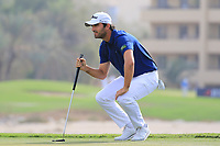 Antoine Rozner (FRA) in action during round 3, Ras Al Khaimah Challenge Tour Grand Final played at Al Hamra Golf Club, Ras Al Khaimah, UAE. 02/11/2018<br /> Picture: Golffile | Phil Inglis<br /> <br /> All photo usage must carry mandatory copyright credit (&copy; Golffile | Phil Inglis)