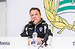 Stockholm 2015-04-25 Fotboll Allsvenskan Hammarby IF - &Aring;tvidabergs FF :  <br /> &Aring;tvidabergs tr&auml;nare Roar Hansen under presskonferensen efter matchen mellan Hammarby IF och &Aring;tvidabergs FF <br /> (Foto: Kenta J&ouml;nsson) Nyckelord:  Fotboll Allsvenskan Tele2 Arena Hammarby HIF Bajen &Aring;tvidaberg &Aring;FF tr&auml;nare manager coach press presskonferens intervju portr&auml;tt portrait