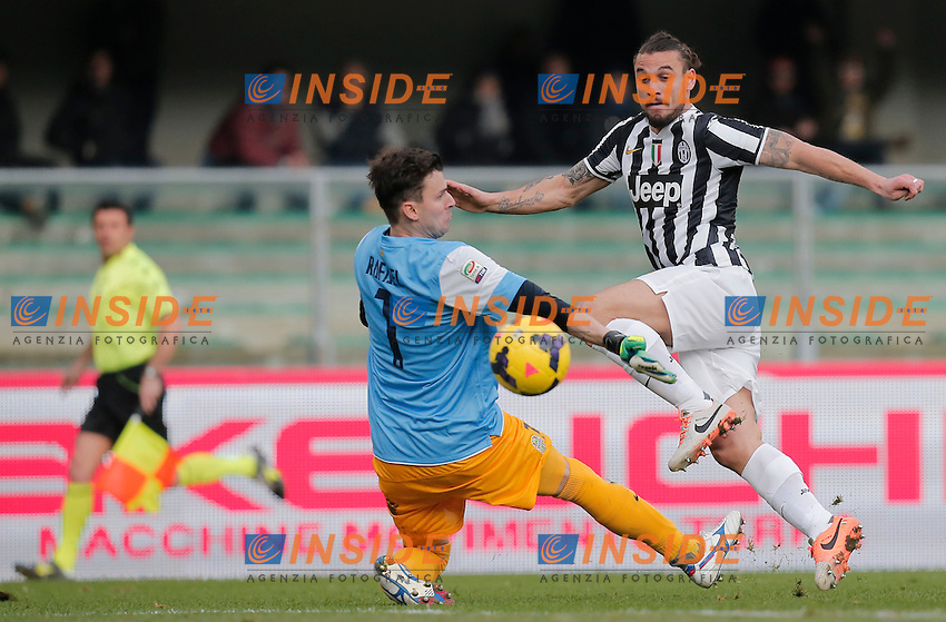 Occasione Pablo Osvaldo Juventus, Verona 9-2-2014, Stadio Bentegodi, Football Calcio 2013/2014 Serie A, Hellas Verona - Juventus, Foto Marco Bertorello/Insidefoto