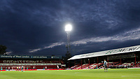 General view of the ground on the last ever match at Griffin Park during Brentford vs Swansea City, Sky Bet EFL Championship Play-Off Semi-Final 2nd Leg Football at Griffin Park on 29th July 2020