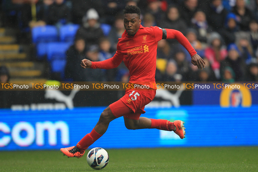 Daniel Sturridge of Liverpool - Reading vs Liverpool - Barclays Premier League Football at the Madejski Stadium - 13/04/13 - MANDATORY CREDIT: Simon Roe/TGSPHOTO - Self billing applies where appropriate - 0845 094 6026 - contact@tgsphoto.co.uk - NO UNPAID USE