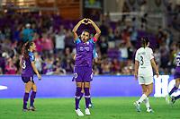 Orlando, FL - Saturday October 12, 2019: Marta Vieira da Silva celebrates a goal , Orlando Pride vs Reign FC Stars at Exploria Stadium.