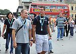 OLIMPIZAM, NOVI SAD, 24. May. 2012. - Mihail Dudas i Aleksandar Maksimovic. Zavrsne, sedamnaeste EkOlimpijske igre odrzane su danas na Trgu slobode u Novom Sadu. Foto: Nenad Negovanovic