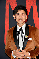 """LOS ANGELES, CA: 09, 2020: Jimmy Wong at the world premiere of Disney's """"Mulan"""" at the El Capitan Theatre.<br /> Picture: Paul Smith/Featureflash"""