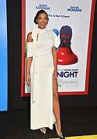 Kylie Bunbury  at the premiere for &quot;Game Night&quot; at the TCL Chinese Theatre, Los Angeles, USA 21 Feb. 2018<br /> Picture: Paul Smith/Featureflash/SilverHub 0208 004 5359 sales@silverhubmedia.com