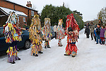 Otterbourne Mummers Hampshire UK December 2010.