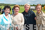 Having a bet at the races in aid of the Nano Nagle School in Duagh on Sunday were Ann Kelliher, (Sligo), Mary Flynn, Abbeyfeale Deirdre Collins, Shannon and Joan Collins, Abbeyfeale.........   Copyright Kerry's Eye 2008