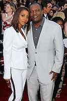 WESTWOOD, LOS ANGELES, CA, USA - JUNE 10: Holly Robinson Peete, Rodney Peete at the World Premiere Of Columbia Pictures' '22 Jump Street' held at the Regency Village Theatre on June 10, 2014 in Westwood, Los Angeles, California, United States. (Photo by Xavier Collin/Celebrity Monitor)