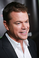 HOLLYWOOD, LOS ANGELES, CA, USA - NOVEMBER 07: Matt Damon arrives at HBO's 'Project Greenlight' Season 4 Winner Announcement held at Boulevard3 on November 7, 2014 in Hollywood, Los Angeles, California, United States. (Photo by David Acosta/Celebrity Monitor)